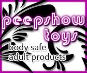 Peepshow Toys Banner - Hedonish.com