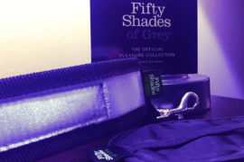 50 Shades of Grey Keep Still Over the Bed Cross Set — Hedonish.com