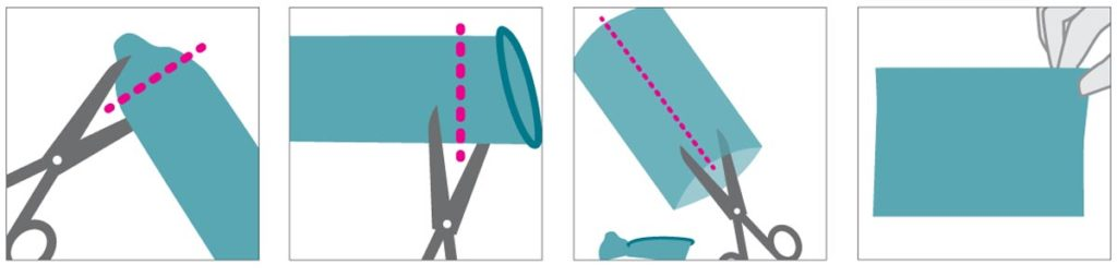 How to Make a Dental Dam from a Condom
